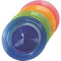 Assiette de jonglerie pailletée avec baguette
