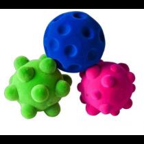 Lot de 3 mini balles sensorielles Rubbabu