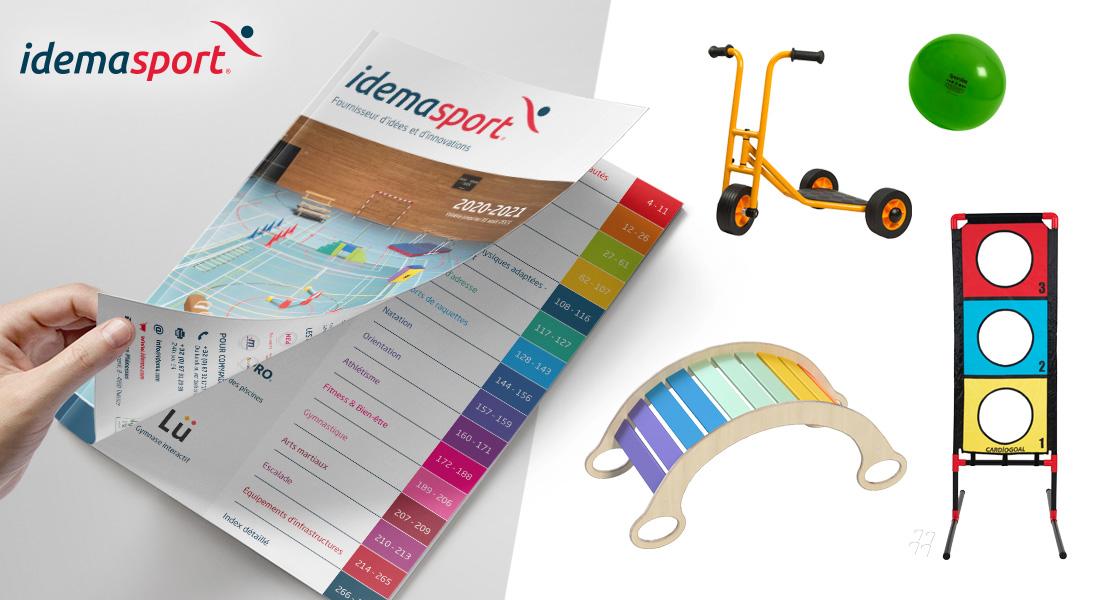 Parcourir le nouveau catalogue Idemasport 2020-2021