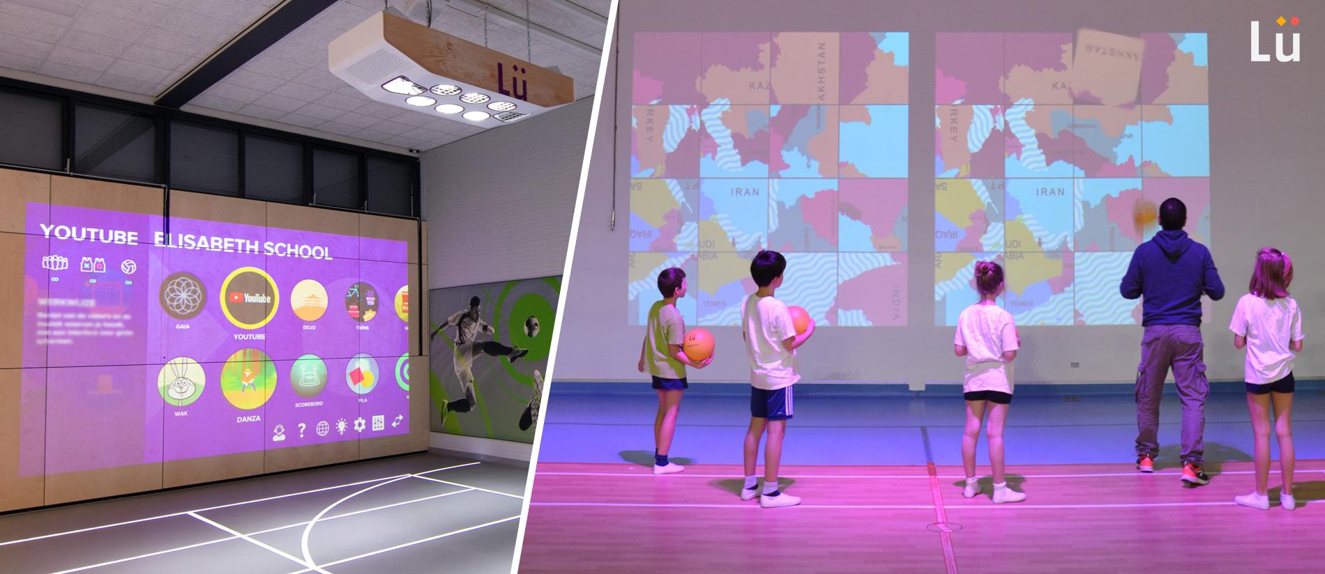 Lü gymnase interactif - Nos références