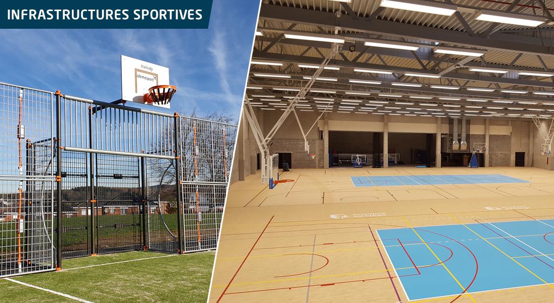 Infrastructures sportives | Idema