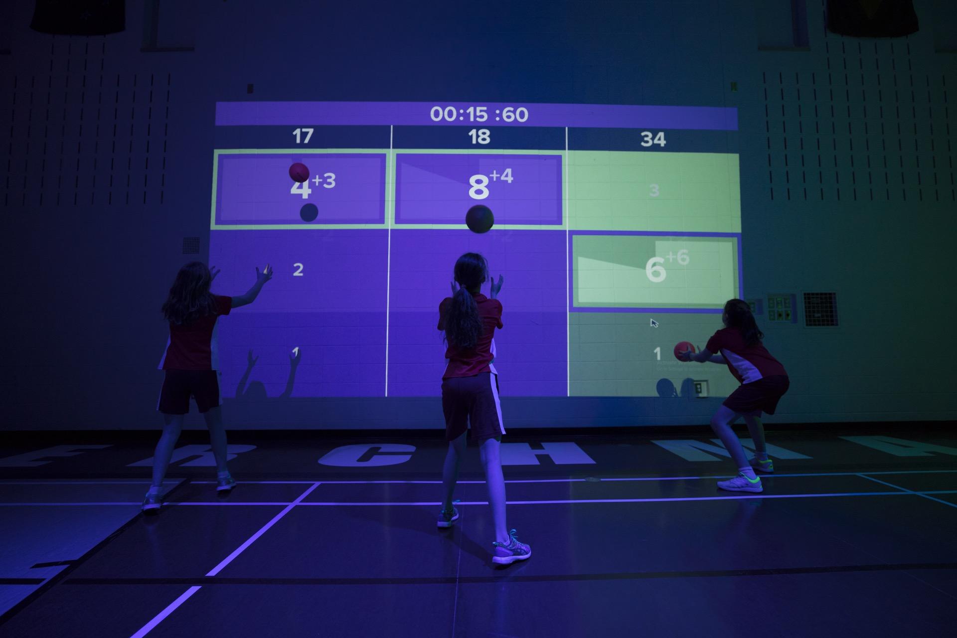 equipementier sportif gymnase interactif