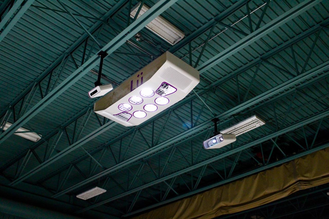equipementier sportif videoprojecteur interactif et systeme son et lumiere enfant gymnase