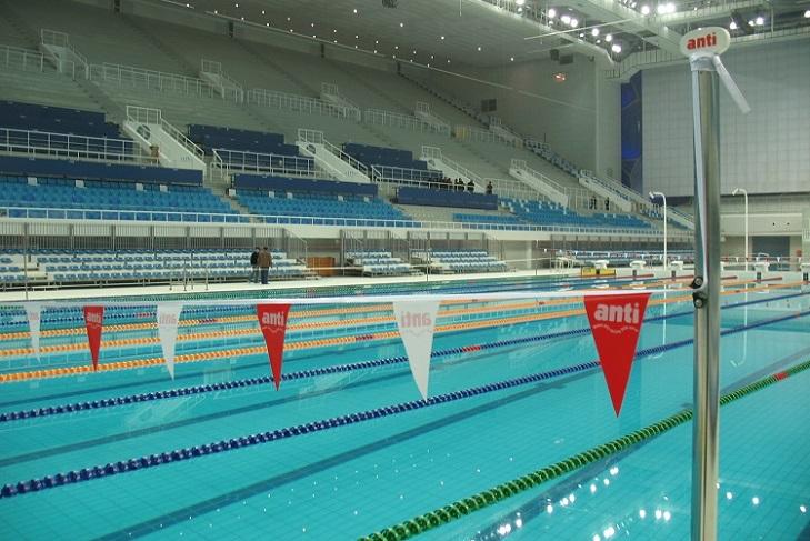équipement de piscine ligne de nage