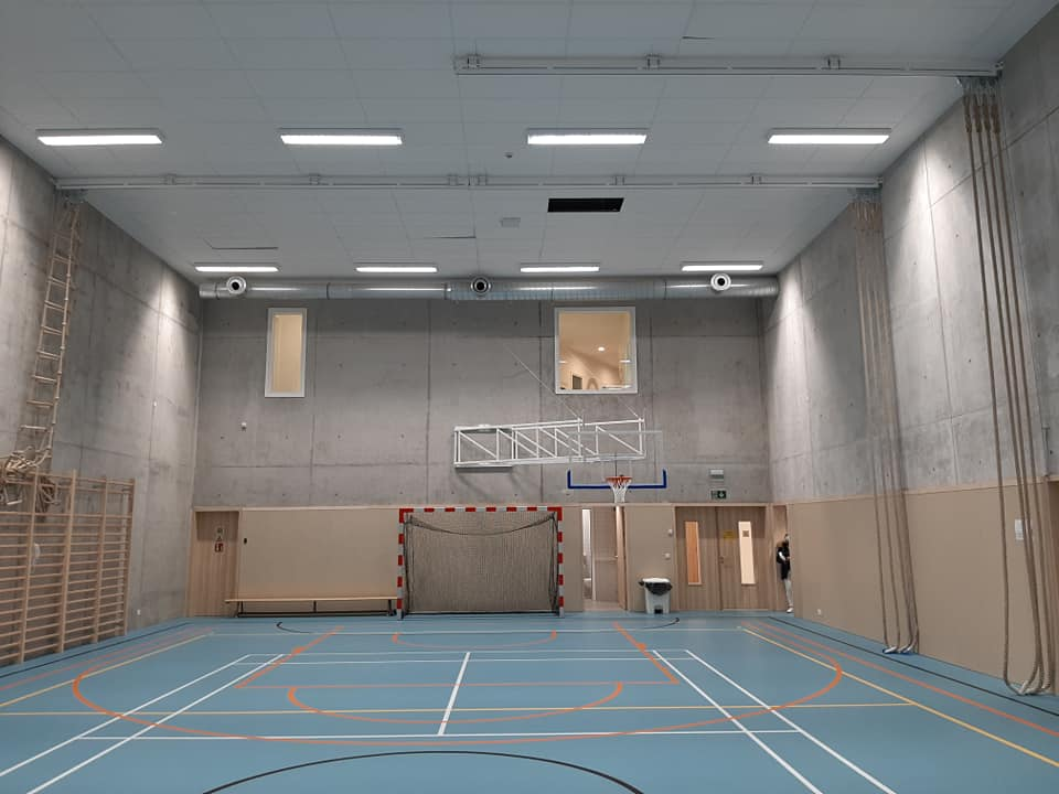 Aménagement d'une salle de sport à Evere