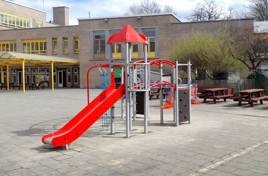 Module de jeux pour les enfants de l'école primaire