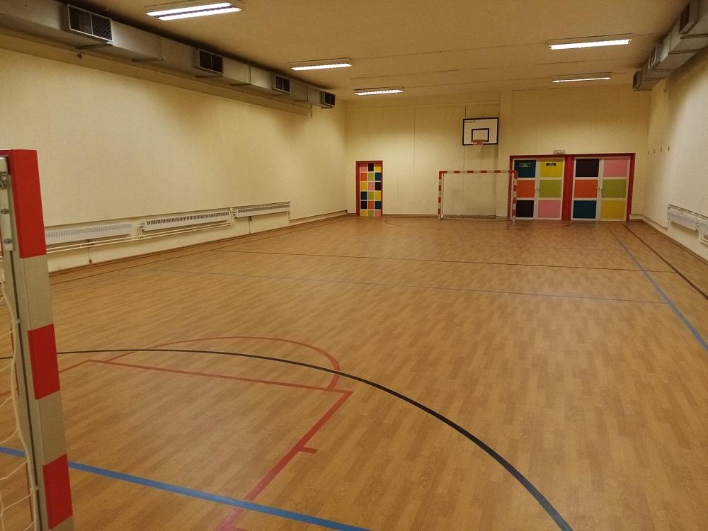 Belle salle de sport après rénovation par Idemasport