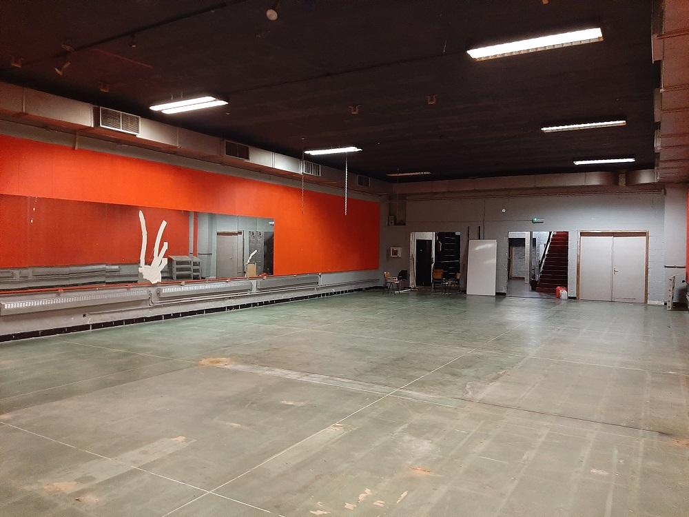 salle de sport à rénover à Schaerbeek