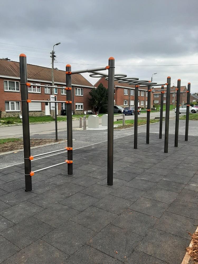 Zone de street workout à Fléron