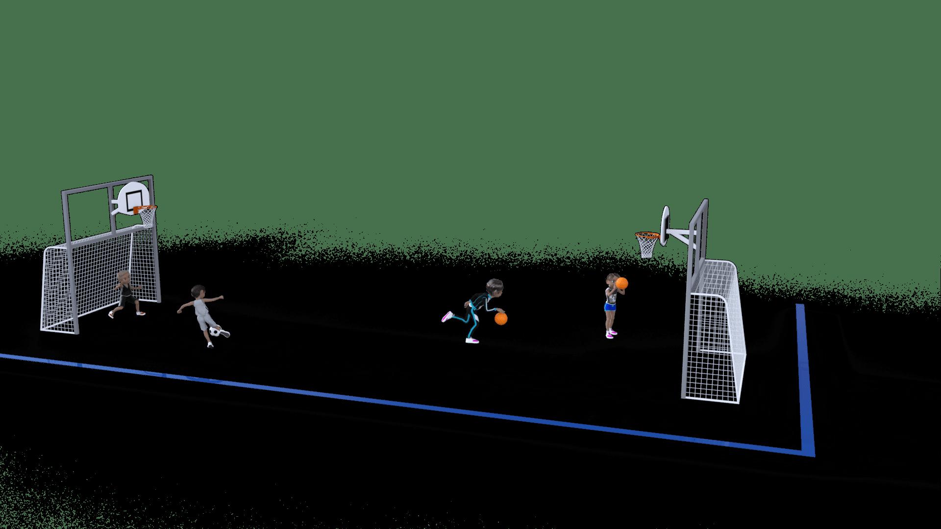 structures jeux cour de recreation