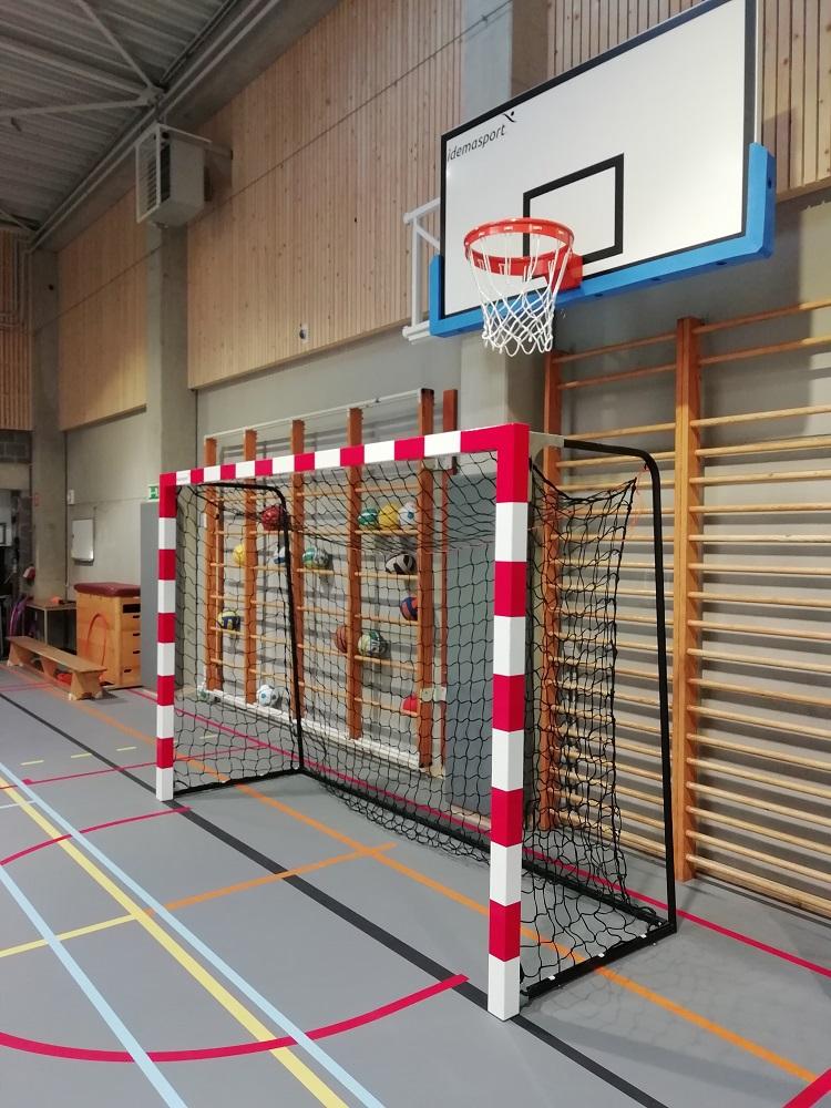 Handbaldoel en basketbaldoel