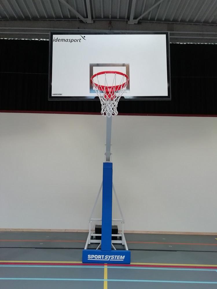 Mobiele basketbaldoel