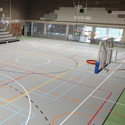 aménagement sportif Aubel