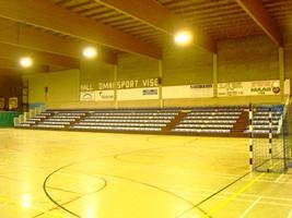 equipement salle de sport Tribunes de Vise