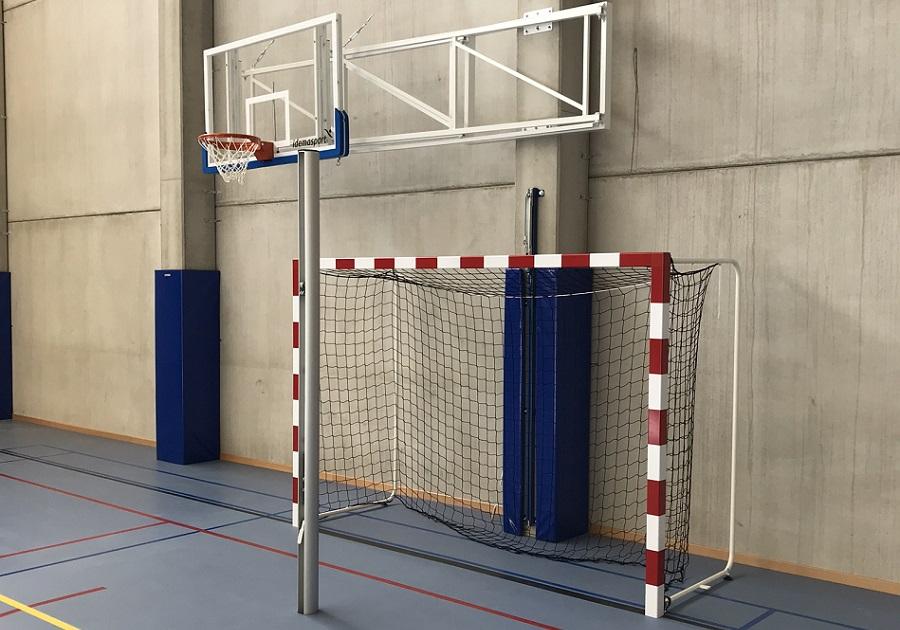 equipement salle de sport manage but de hand