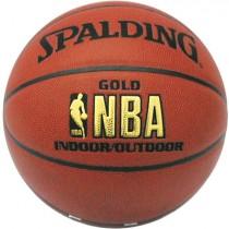 Ballon de basket Spalding NBA gold series T.7