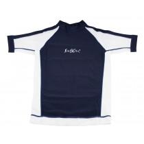 T-Shirt TECH SUN - Navy/blanc