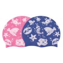 Bonnet enfant silicone décoré