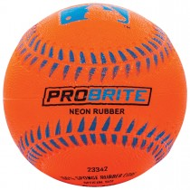 Balle de baseball en caoutchouc