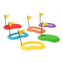 Lot de 6 cibles de golf en mousse