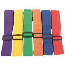 Lot de 6 écharpes ajustables