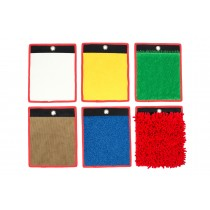 Lot de 6 mini tapis sensoriels