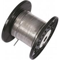 Bobine de 100cm de câble inox