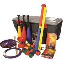 Kit de jonglerie 16 enfants avec malle