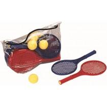 Kit de 12 raquettes mini-tennis et 12 balles