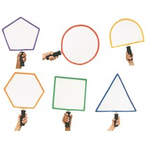 Jeu de 6 raquettes de formes géométriques