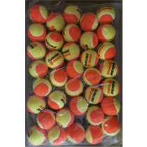 Recharge 36 balles tennis ORANGE