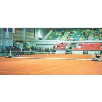 Installation de tennis auto-stable