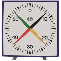 Horloge à poser/murale 4 aiguilles