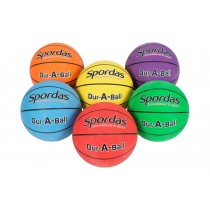 Jeu de 6 ballons de basket Dur-O-Sport