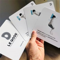 Lot de 18 cartes illustrées Le Qoos