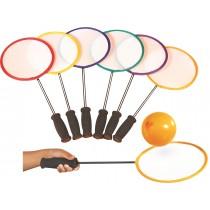 Kit de 6 raquettes ini badminton