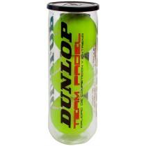 Boîte de 3 balles de Padel Dunlop Team