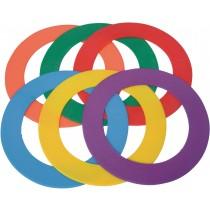 Lot de 6 anneaux