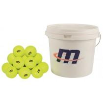 Seau de 48 balles de tennis Megaform