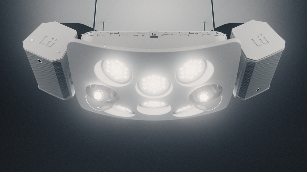 système de son et lumières pour Lü V2