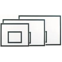 Basketbalbord hout/polyester 120x90x2cm