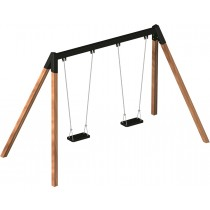 Double safety swing