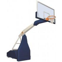 Mobiel basketbaldoel met overhang 225cm