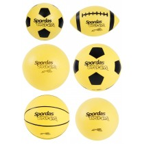 Set van 6 Super Securit ballen