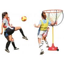 Reuze voet-basketbalkorf - compleet systeem