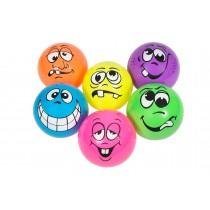 Set van 6 ballen met gezichtsafbeelding