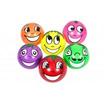 Set van 6 ballen met fruitafbeelding