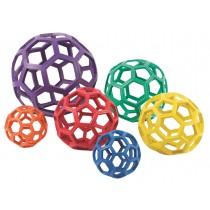 Set van 6 open ballen