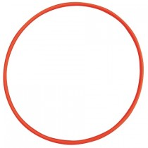 Hoepel 85cm rood