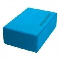 Klassieke yogablok blauw